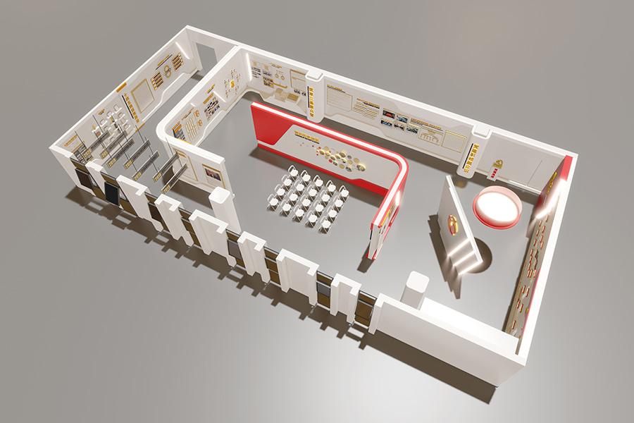 展厅设计网站建设制作设计